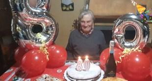 Sessa Aurunca – Il compleanno di Peppino: gli auguri di amici e familiari per i suoi ottant'anni