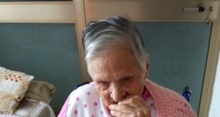 Cellole – Nonna Francesca a 102 anni operata al femore ed ora cammina