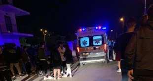 San Prisco – Incidente stradale, cade dal motorino: giovane al pronto soccorso