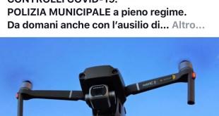 Sessa Aurunca – Sasso annuncia l'uso dei droni per controllare le uscite ingiustificate, anche Gabrielli lo stoppa
