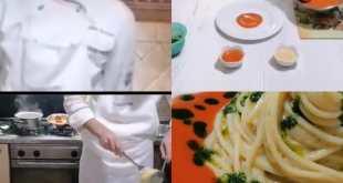 Teano /Cellole- In tempo di Covid, gli studenti dell'alberghiero di Teano-Cellole presentano i piatti a distanza