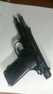 Arma sequestrata a Tesone Raffaele