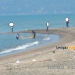 Sessa Aurunca – Foce del Garigliano, pesca illegale di Avanotti, scontri tra pescatori.
