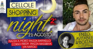 "Cellole – Al via la seconde edizione del ""Cellole Shopping Night"" con Enzo Avitabile in concerto"