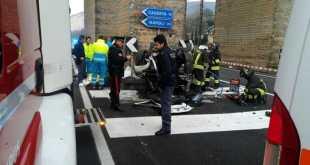Valle di Maddaloni – Incidente mortale, auto si schianta contro i Ponti della Valle: 48enne perde la vita