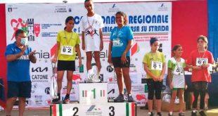 Sparanise – Festa dell'atletica giovanile, assegnati i titoli regionali di corsa su strada