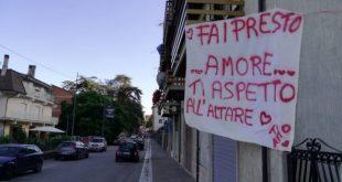 """ROCCAMONFINA – """"Fai presto Amore, ti aspetto all'altare. Ti amo"""", la dichiarazione pubblica di Alessio a Maddalena"""
