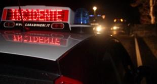 TEANO – Incidente sulla provinciale, ferito il conducente