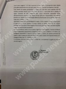 Turbogas PResenzano nota ministero Maccarelli 2