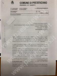 Turbogas PResenzano nota ministero Maccarelli