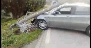 Alife – Auto contro palo Enel, indagano i carabinieri
