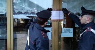 "Vairano Patenora – Coronavirus e baristi ""furbi"", i carabinieri chiudono 2 locali"