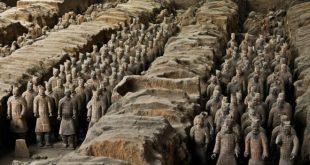 CASERTA – Sarà in mostra alla Reggia di Caserta l'originale esecito di terracotta dell'imperatore cinese Quin Shi Huang