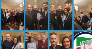 Sessa Aurunca – Brindisi natalizio con il gotha di Forza Italia a casa del coordinatore locale Forte. Presenti Caldoro, Magliocca e Grimaldi