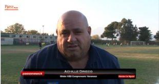 Alto Caserta – Campionato amatoriale over 35, sfida al vertice:  Teano batte Tora