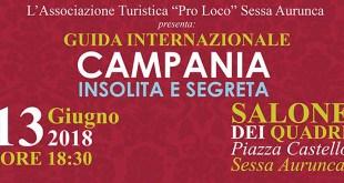 """Sessa Aurunca – La città entra nella guida turistica internazionale """"Campania insolita e segreta"""", un ulteriore strumento per pubblicizzare il territorio all'estero"""