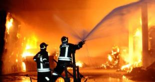 Alife – Incendio nell'ex istituto agrario, in fiamme cumuli di rifiuti