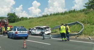 Caianello / Capua – Tragico Incidente sull'A1: un morto e un ferito. (GUARDA IL VIDEO)