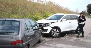 Alife / Caiazzo – Scontro sulla provinciale, ferita una 20enne