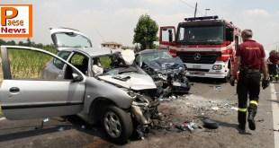 Riardo / Caserta – Incidente stradale, coinvolto noto medico: è in gravi condizioni