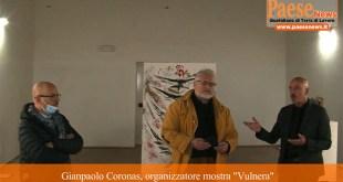 Casagiove – Maffei e le ferite alla natura, in mostra al quartiere borbonico (il video)