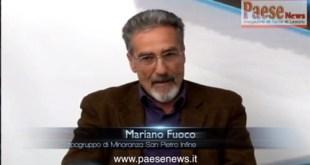 SFIDA PER LE COMUNALI – San Pietro Infine: intervista a Mariano Fuoco (la diretta alle ore 16:00)