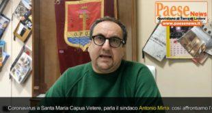 SFIDA PER LE COMUNALI – Santa Maria Capua Vetere: intervista ad Antonio Mirra (la diretta alle ore 14:30)
