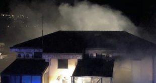 Montaquila – Brucia la struttura dell'Europea92, azienda della famiglia del sindaco: indagano i carabinieri