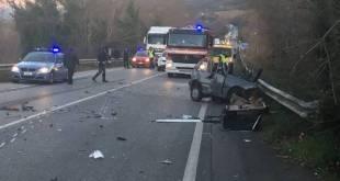 Solopaca / Paupisi – Auto contro camion, morto un 46enne