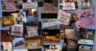 PIGNATARO MAGGIORE – Due mega impianti di rifiuti in città, la cittadinanza scende in piazza per gridare 'no'