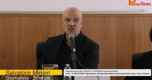 """SALVATORE MINIERI PRESENTAZIONE DEL LIBRO :""""VENGA IL TUO REGNO"""" – DIRETTA LIVE"""
