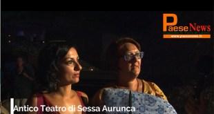 Sessa Aurunca – Manifestazioni nel Teatro Romano, le opinioni della gente: tutto meraviglioso (il video con le interviste)