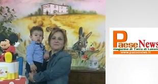 ROCCAROMANA – Walter fa gli auguri di compleanno alla nonna Antonietta Mazzacane