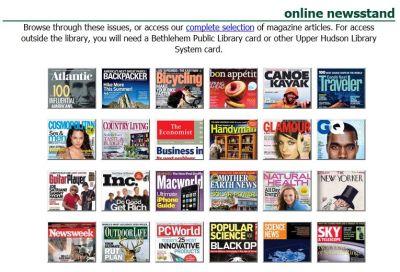 An online newsstand