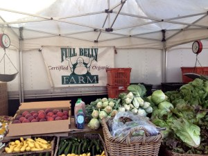 Certified organic fruits and vegetables from Full Belly Farm