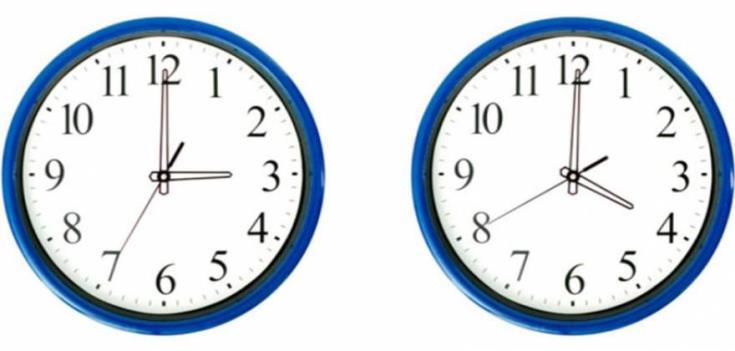 Μια ώρα μπροστά τα ρολόγια στις 3 τα ξημερώματα της Κυριακής