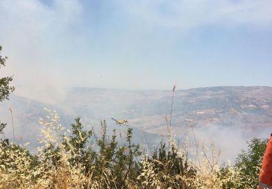 Υπό έλεγχο ο πυρκαγιά στη Σαλαμιού – Δριμύ κατηγορώ από τους Κοινοτάρχες