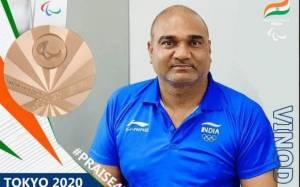 Indian athlete Vinod Kumar :