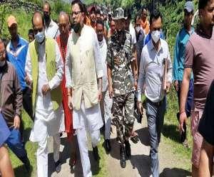CM dhami in Pithauragarh: