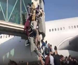 Kabul Airport Firing: