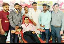 Blood donation camp: