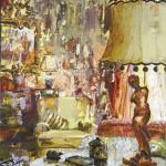 Untitled (Lady in the Lamp)
