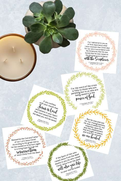 Free Printable Easter Verse Cards