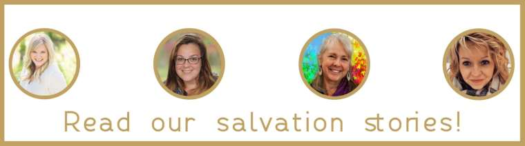 Salvation Stories from pageofjoy.com