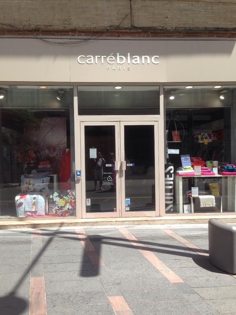 carre blanc boutiques toulouse linge