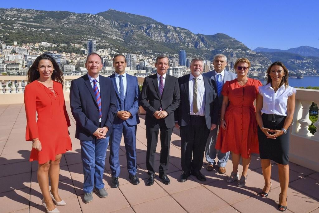 Didier Gamerdinger reçoit le Directeur Général de L'Agence Régionale de Santé Provence-Alpes-Côte d'Azur