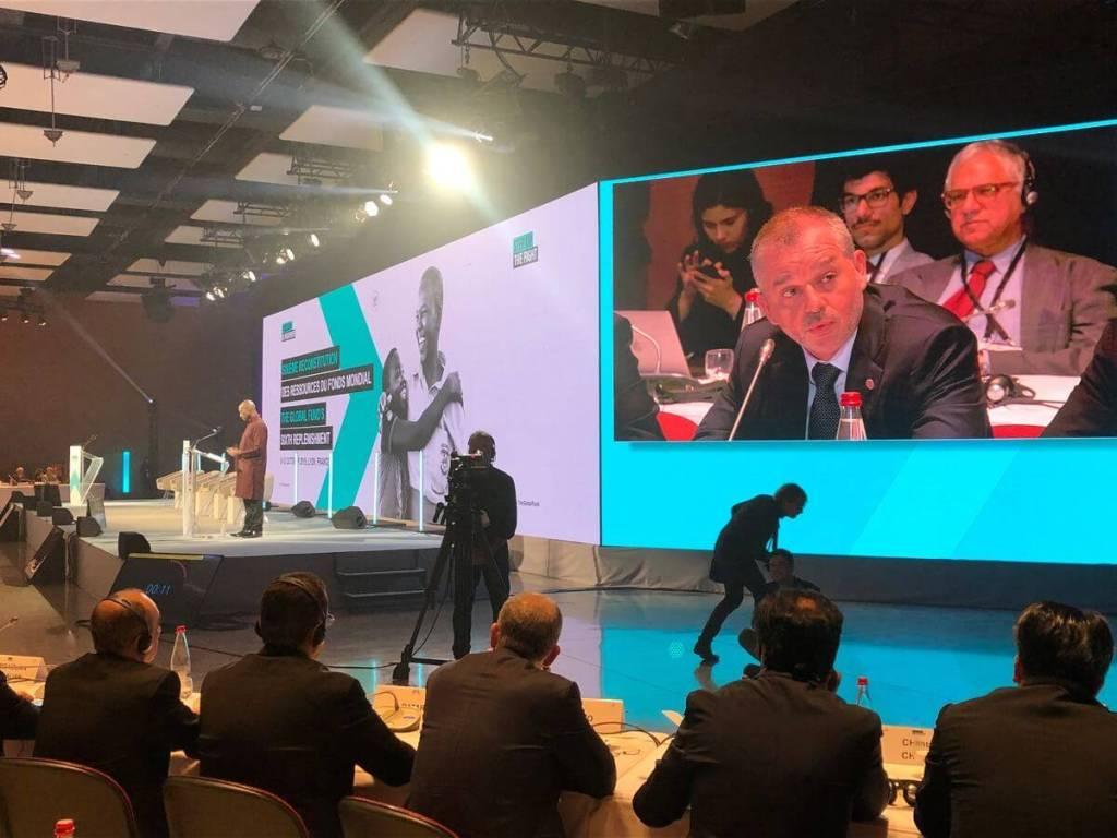 Monaco participe à la 6ème Conférence de Reconstitution du Fonds mondial de lutte contre le sida, la tuberculose et le paludisme