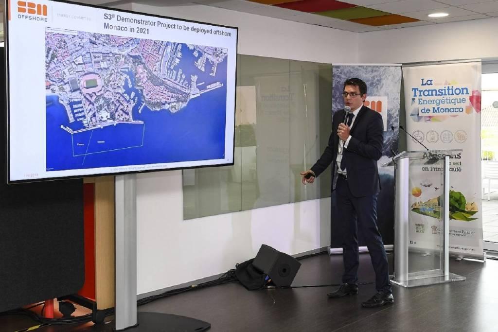Wave Energy Converter : l'énergie houlomotrice pour alimenter Monaco