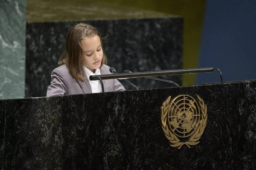 Mayleen représente Monaco à l'ONU