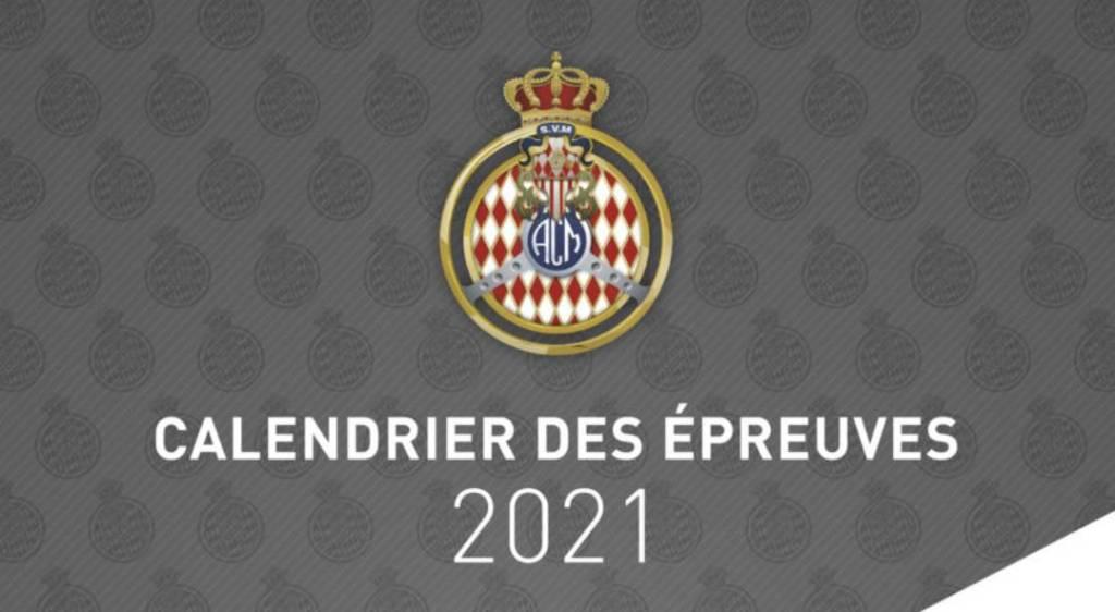 L'Automobile Club De Monaco Publie Son Calendrier 2021